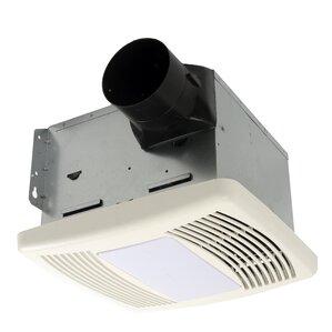 High Quality HushTone 150 CFM Energy Star Bathroom Fan With Light