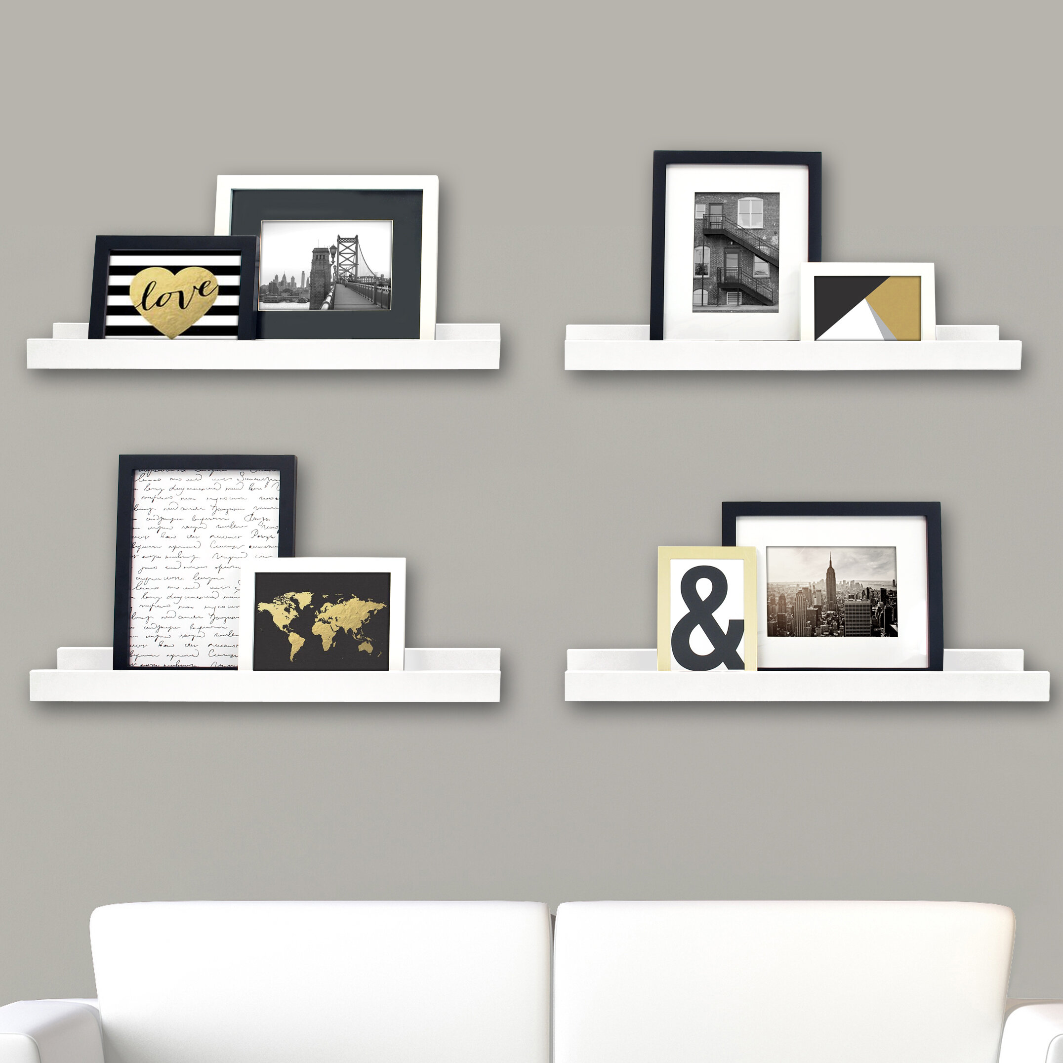nexxt Design Edge Picture Frame Ledge & Reviews | Wayfair.ca
