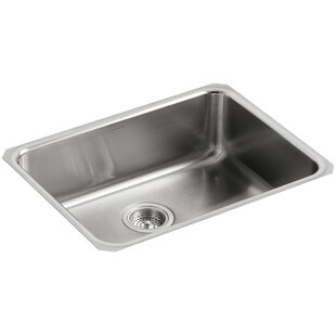 undertone 23 l x 17 12 w x 7 58 extra large squared under mount single bowl kitchen sink - Kitchen Sink Mats