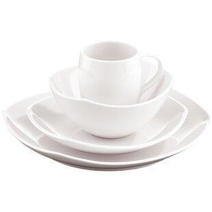Classic Fjord 16 Piece Dinnerware Set Service for 4. by Dansk  sc 1 st  Wayfair & Dansk | Wayfair