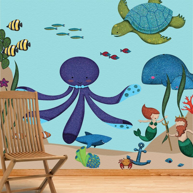 Under The Sea Wall Decal Kit