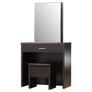 Modern & Contemporary Corner Bedroom Vanity | AllModern