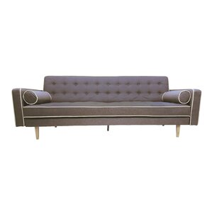 Clarissa 2 Tone Mid Century Sleeper Sofa by Langley Street