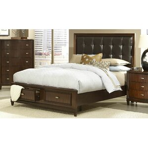 Abramo Upholstered Panel Bed by Woodhaven Hill