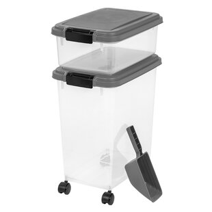 Ainsworth 3 Piece Airtight Pet Food Container