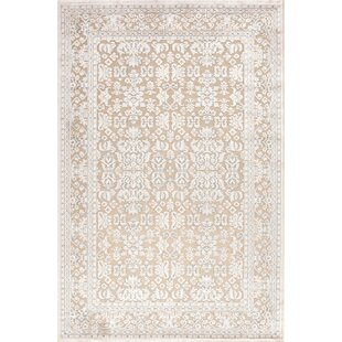 Harting Machine Woven Hand Tufted Chenille White Ivory Area Rug