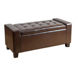 Appletree Storage Ottoman by Andover Mills