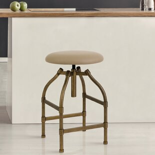 Engelman Adjustable Height Swivel Bar Stool