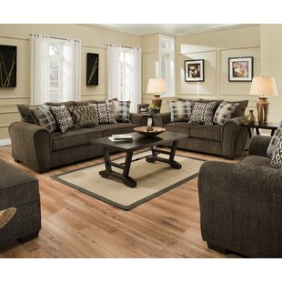 Rustic Stationary Sofa Living Room Sets You\'ll Love | Wayfair