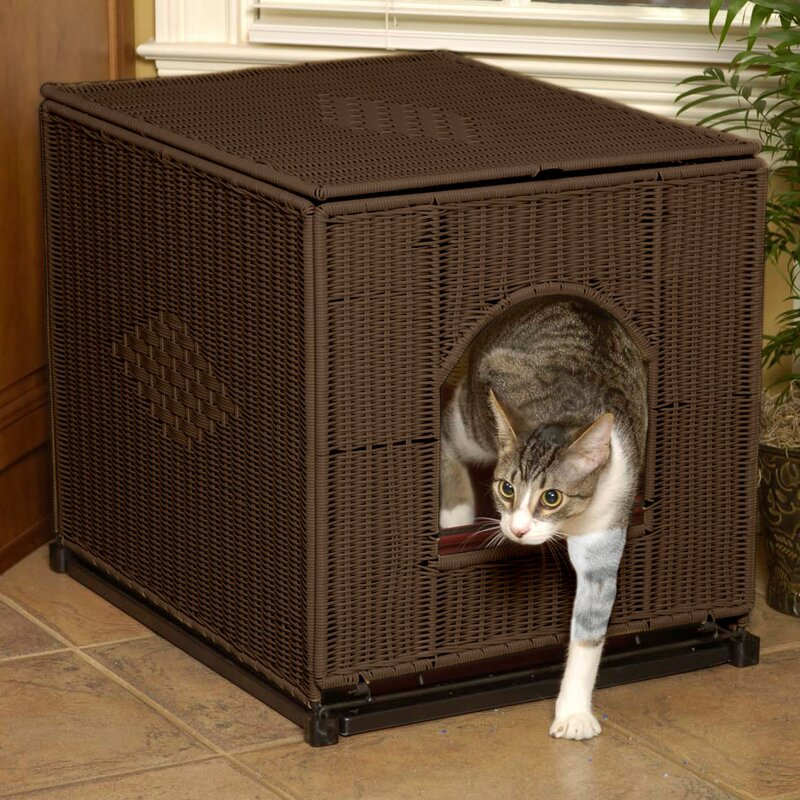 Decorative Litter Box Fair Mrherzher's Decorative Litter Box Enclosure & Reviews  Wayfair Inspiration Design