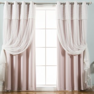 Pink Tulle Curtains