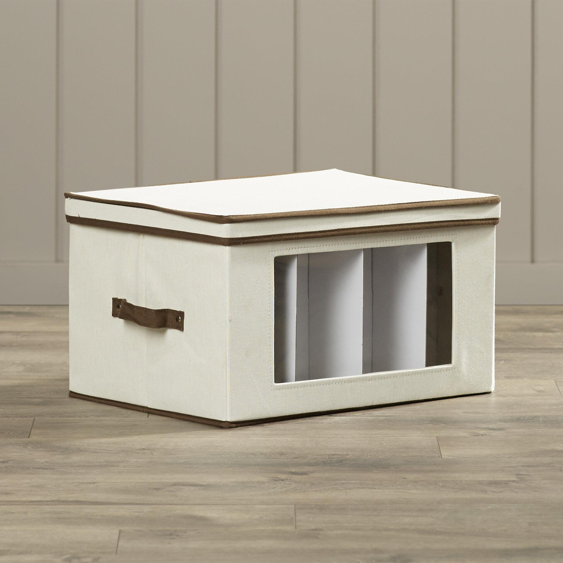 Gentil Rebrilliant Canvas Tall Window Storage Box U0026 Reviews | Wayfair