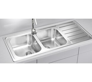 kitchen sink. Contemporary Sink Line 116 Cm X 50 Double Bowl Kitchen Sink For