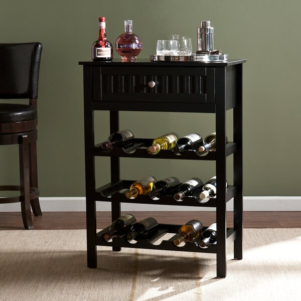 Darby Home Co Raabe 15 Bottle Floor Wine Rack Amp Reviews