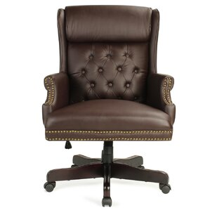 Perfect Benningfield Wingback Traditional Ergonomic Executive Chair