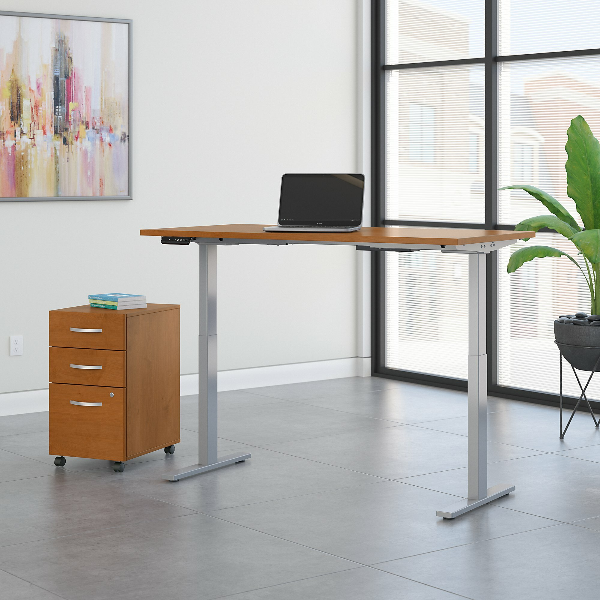 Phenomenal Move 60 Series Adjustable Standing Desk Home Interior And Landscaping Elinuenasavecom
