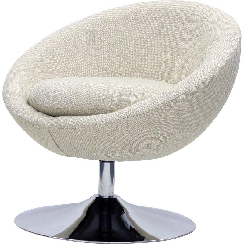 Overman Swivel Barrel Chair