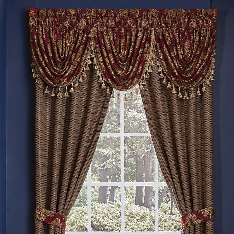 Exceptional Sebastian Waterfall Swag Curtain Valance