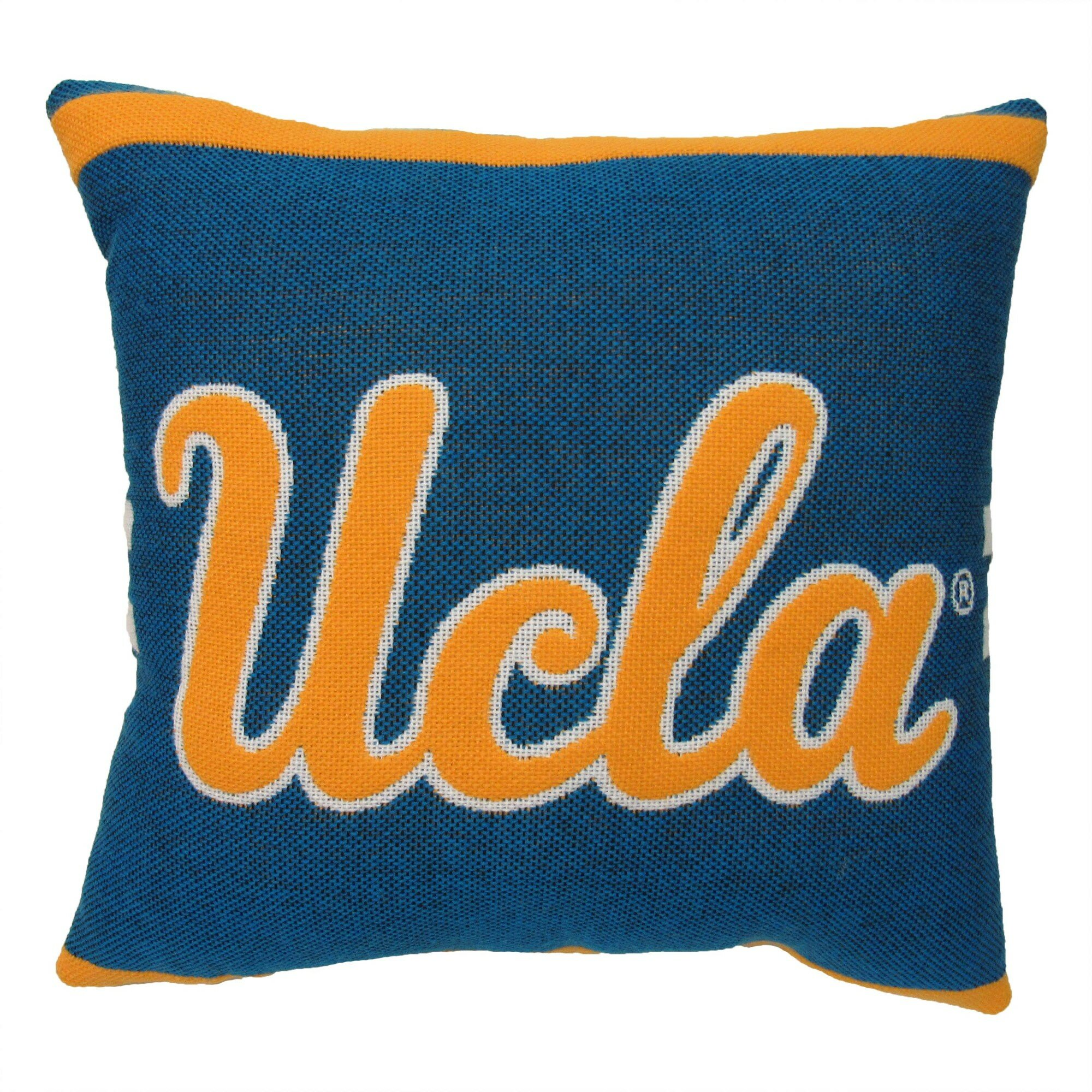 sports shoes 89b73 3def4 The Northwest Company NCAA College Throw Pillow   Wayfair