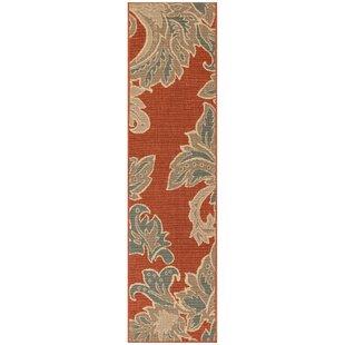 Grands tapis de cuisine: Couleur - Rouge | Wayfair.ca