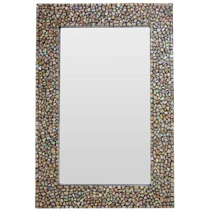 Etonnant Fusion Crackle Mosaic Accent Mirror