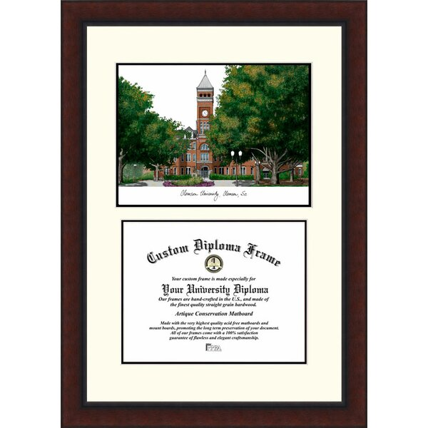 Campus Images NCAA Clemson University Legacy Scholar Diploma Picture ...