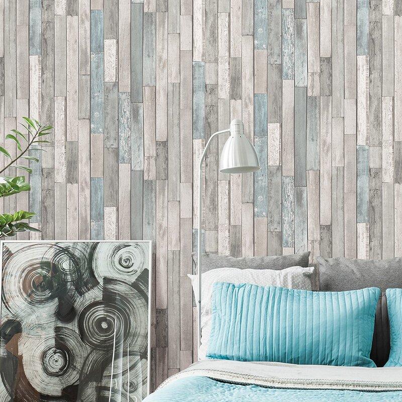 Brewster home fashions essentials 33 39 x 20 5 semi gloss for Wayfair bathroom wallpaper