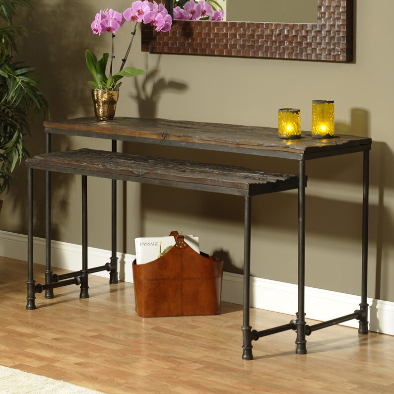 Great Saal 2 Piece Nesting Console Table Set