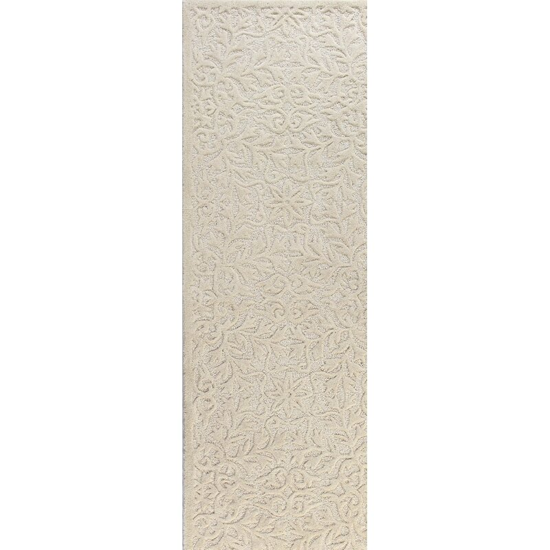 Naomi Hand-Tufted Wool Ivory Area Rug