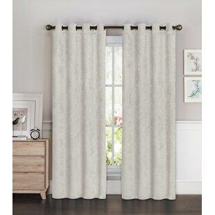 farmhouse burlap curtains wayfair rh wayfair com