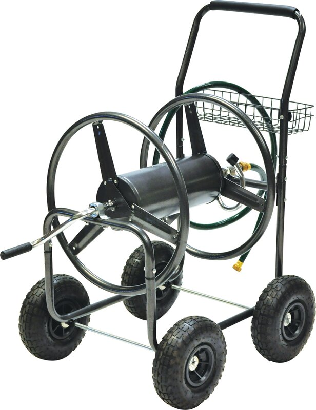 Steel Hose Reel Cart  sc 1 st  Wayfair & Precision Products Steel Hose Reel Cart u0026 Reviews | Wayfair