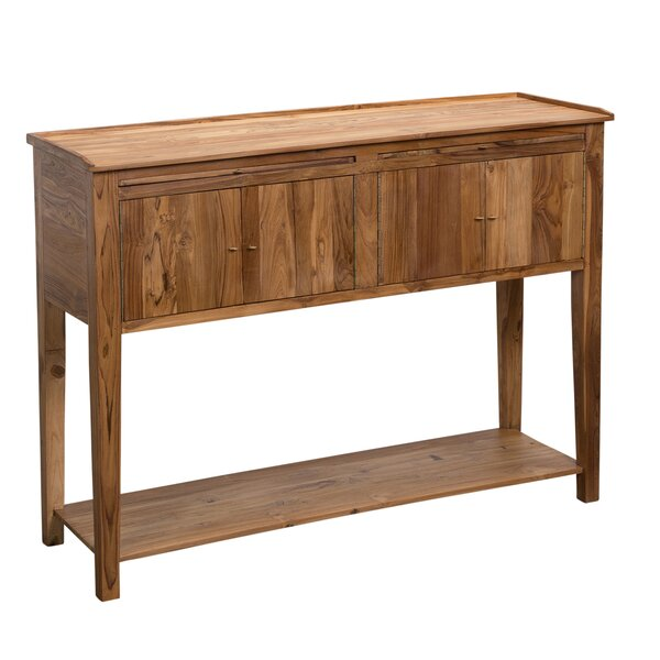 Elegant Foundry Select Angus Reclaimed Teak Buffet Table U0026 Reviews | Wayfair