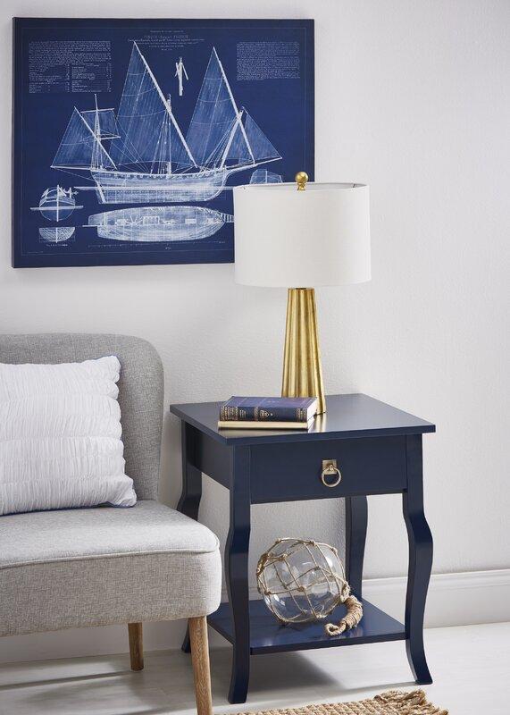 Antique ship blueprint canvas art reviews joss main antique ship blueprint canvas art malvernweather Images