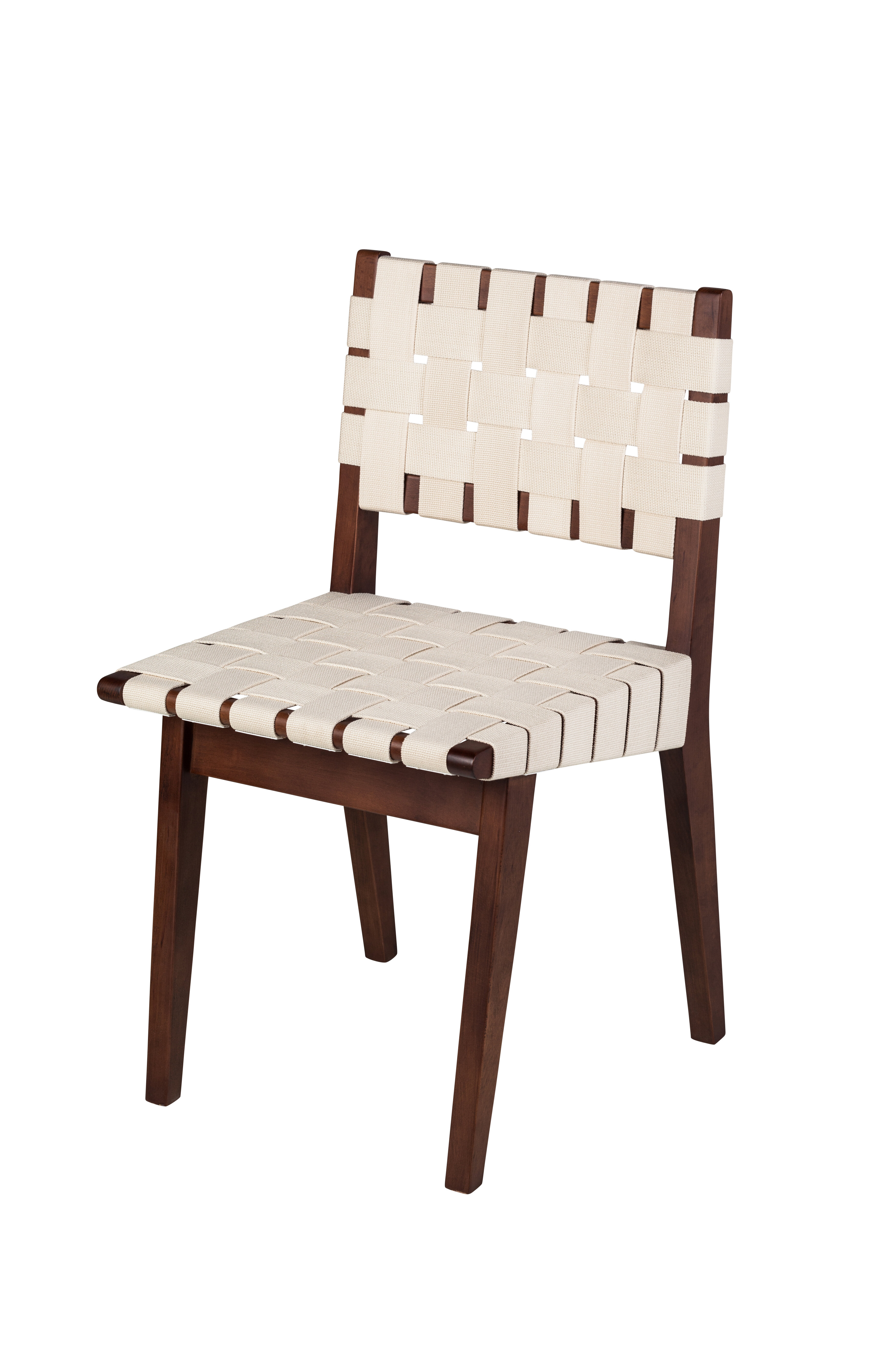 Design tree home woven upholstered dining chair wayfair