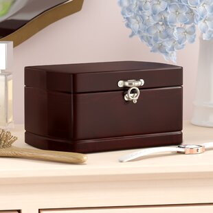 Treasure Chest Dual Layer Jewelry Box & Jewelry Boxes u0026 Jewelry Storage Youu0027ll Love | Wayfair