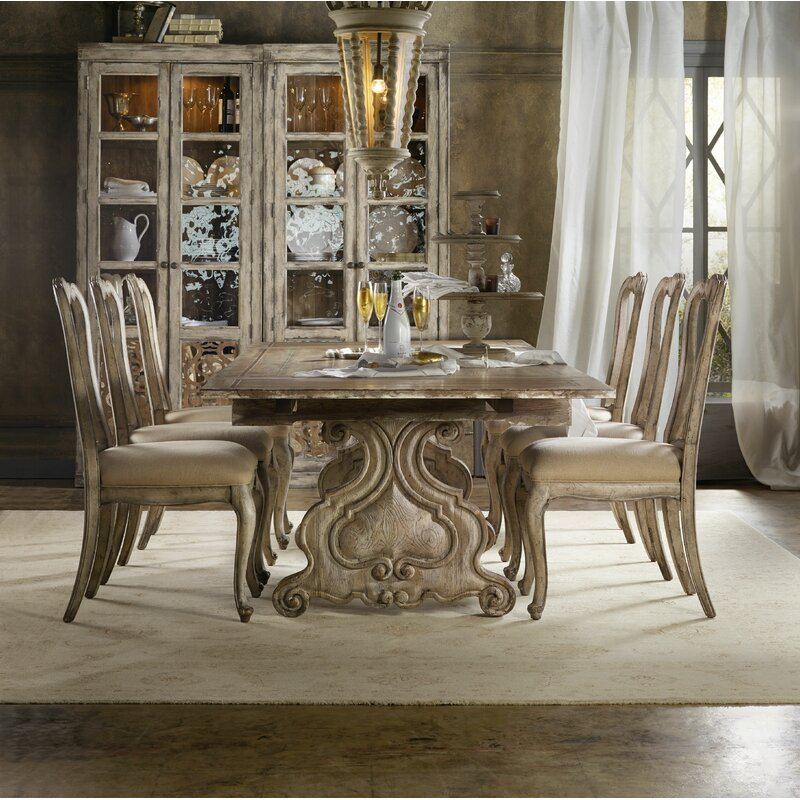 Hooker Furniture Chatelet 7 Piece Extendable Dining Set