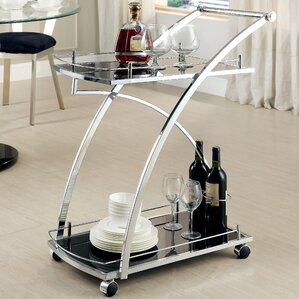 Trento Bar Cart by Hokku Designs