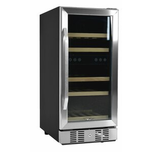 29 Bottle Dual Zone Built-In Wine Cooler by NewAir