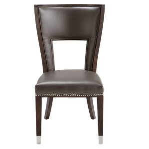 5West Naples Genuine Leather Upholstered Dining Chair by Sunpan Modern