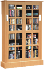 CD & DVD Media Storage