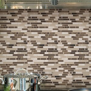 Mosaik Bellagio Bello 10 06 X 10 Peel Stick Wall Tile In