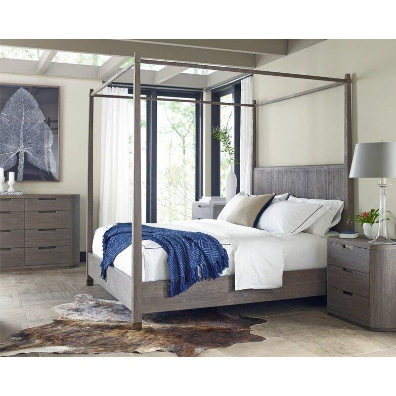 brownstone furniture palmer queen canopy customizable bedroom set reviews wayfair. Black Bedroom Furniture Sets. Home Design Ideas