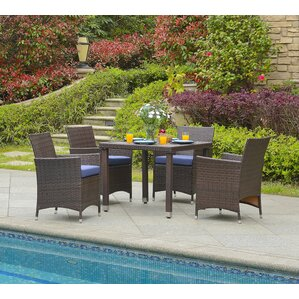 Modern & Contemporary Patio Dining Sets You\'ll Love   Wayfair