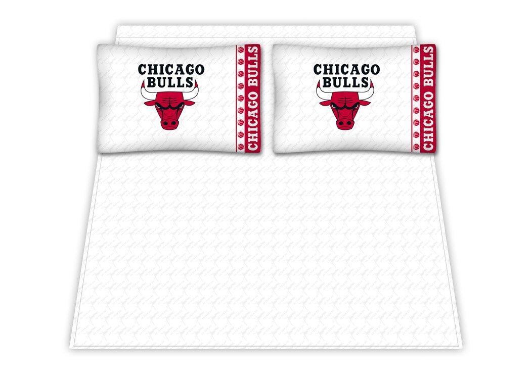 Sports Coverage Nba Chicago Bulls Sheet Set Amp Reviews