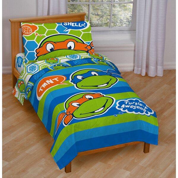 Nickelodeon Teenage Mutant Ninja Turtles Awesome Toddler Bedding ...