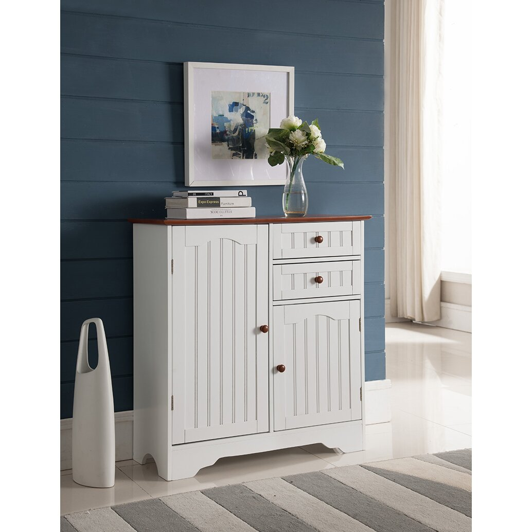beachcrest home southport wood storage 2 door accent cabinet reviews