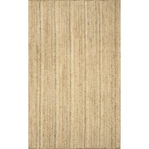 latham rigo jute handwoven tan area rug