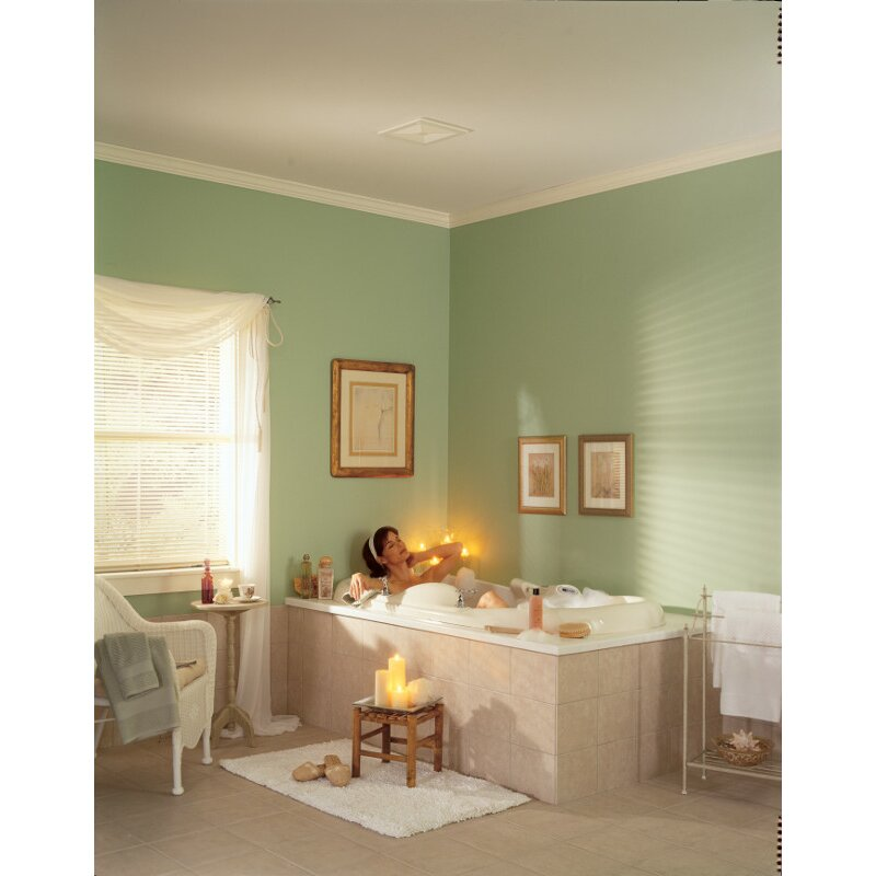 Ceiling/Wall Mount 50 CFM Bathroom Exhaust Fan - Broan Ceiling/Wall Mount 50 CFM Bathroom Exhaust Fan & Reviews