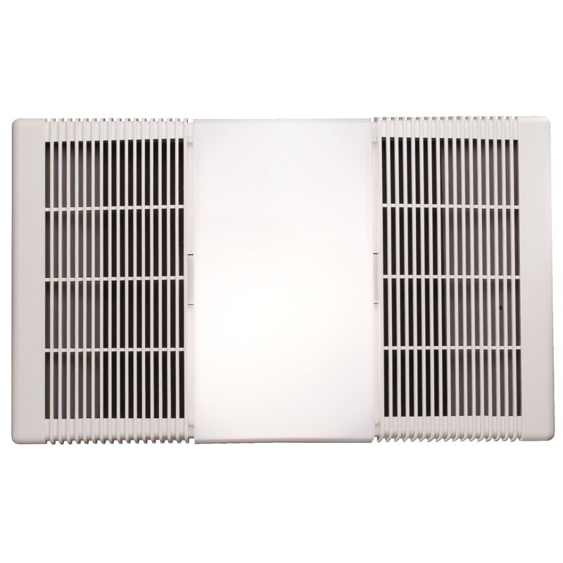 broan 70 cfm ceiling exhaust fan with heater and light. Black Bedroom Furniture Sets. Home Design Ideas