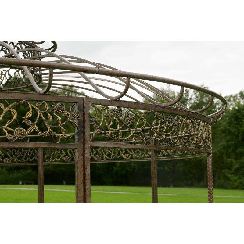 home haus pavillon aus metall bewertungen. Black Bedroom Furniture Sets. Home Design Ideas